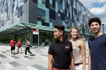 Campus Life and York University buildings